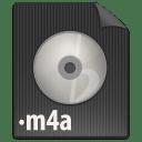 File M4A icon