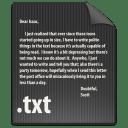 File TXT icon