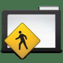Folder Dark Public icon