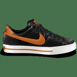 Nike classic shoe orange icon