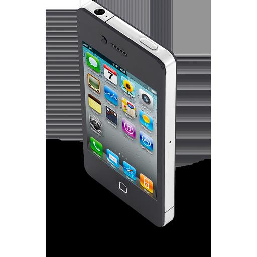 iPhone 4 Black icon