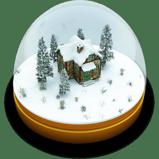 Xmas-Snow-Globe icon