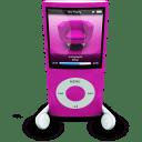 iPodPhonesPink icon