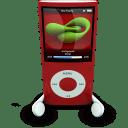 iPodPhonesRed icon