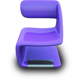 Purple Seat icon