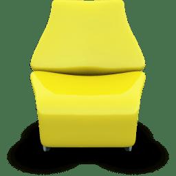 Yellow Seat icon