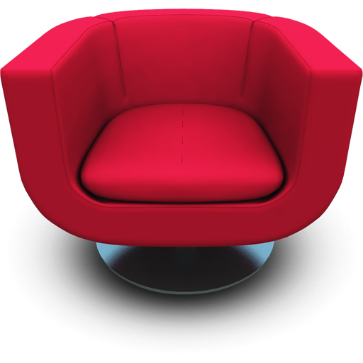 modern furniture chairs png magenta seat icon modern chairs iconset archigraphs 491