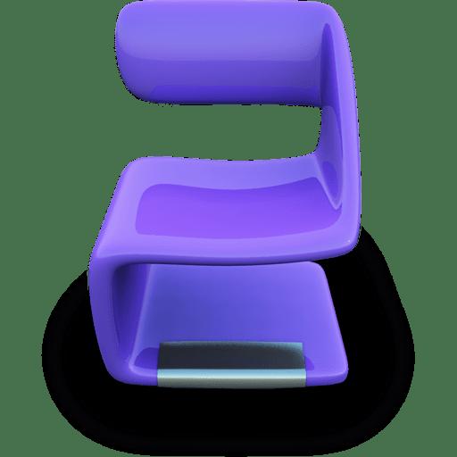 Purple-Seat icon