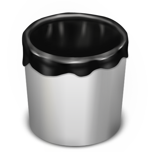 Trash White Empty icon