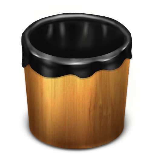 Trash Wood Empty icon