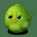 Adium Bird Idle icon