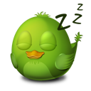 Adium Bird Sleep icon
