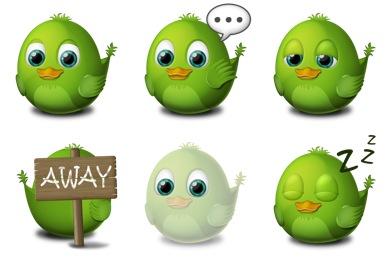 Birdie Adium Icons