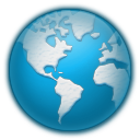 Icy earth icon