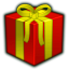 Present red icon