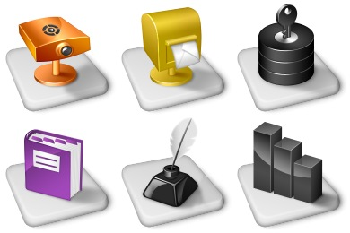 Office Dock Icons