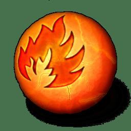 Orbz Fire Icon Orbz Iconset Arrioch