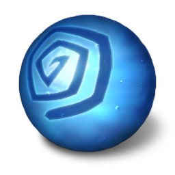 Orbz water icon