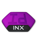 Adobe indesign inx v2 icon