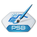 Adobe photoshop psb icon