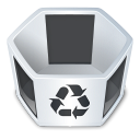 System trash empty icon