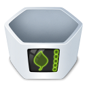 System trash v2 empty icon