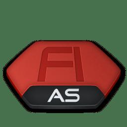 Adobe flash as v2 icon