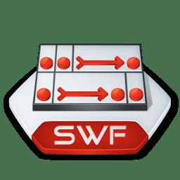 Adobe flash swf icon