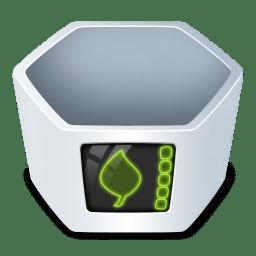 System trash v2 empty icon