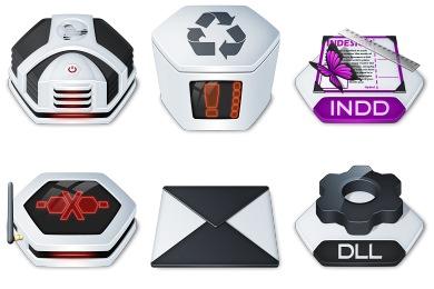Senary Icons