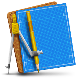 Blueprint Simple icon
