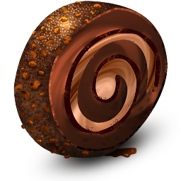 Chocolate Cream Roll icon