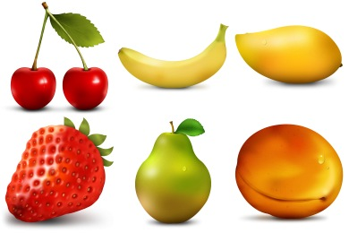 Paradise Fruits Icons