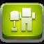 Digg Green 1 icon