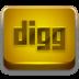 Digg-Orange-2 icon