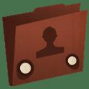 Folder user icon