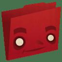 Folder red icon