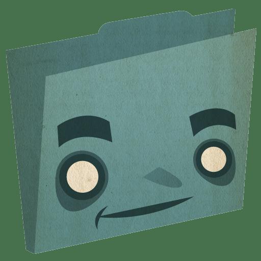 Folder-blue icon