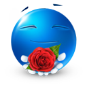 Love rose icon