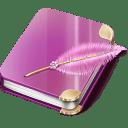 Notebook-girl icon