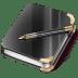 Notebook-boy icon