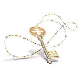 Key necklace icon