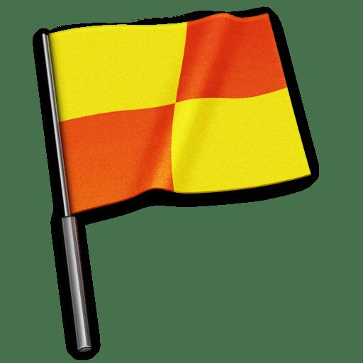 Referee-flag icon