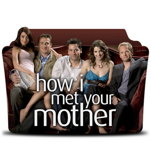 How I Met Your Mother Icon Tv Series Folder Pack 1 4 Iconset Atty12
