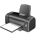Gray Printer icon