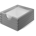 Disabled Paper Box icon