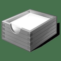 Gray Paper Box icon