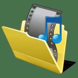 Folder my video icon