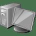3-Gray-Computer icon