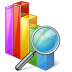 Chart-search icon